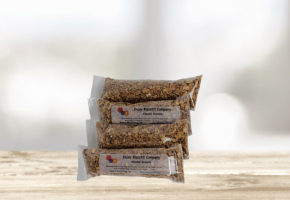 Granola 4 Pack, by Enjoy Biscotti